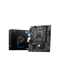MSI mATX, LGA 1200, Intel® B560, 2 x DDR4, PCIe x16 3.0/4.0, PCIe 3.0 x1, HDMI, VGA, 2.5Gbps LAN controller, 6 x .....