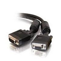 C2G Monitor HD15 M/F cable - Noir