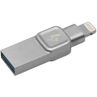 Kingston Technology DataTraveler Bolt Duo, 32GB Clé USB - Argent