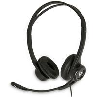 V7 stéréo USB Essentials avec microphone Casque - Noir
