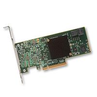 Broadcom SAS 9300-4i Adaptateur Interface - Vert,Gris