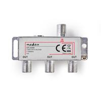 Nedis SSPL300ME Répartiteur de câbles - Argent