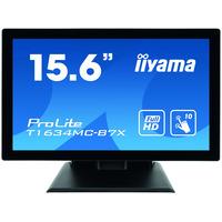 "Iiyama ProLite 15.6"", 1920x1080, 16:9, IPS, 25 ms, VGA, HDMI, DP, HDCP, IP65, 381x285.5x202 mm Touchscreen ....."