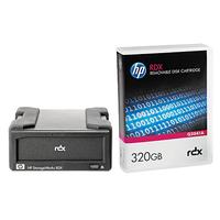 Hewlett Packard Enterprise StorageWorks RDX320 USB 3.0 Lecteur cassette - Noir