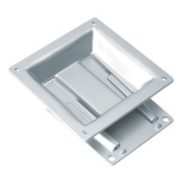 ROLINE LCD bevestiging, wandmontage, 20kg, VESA 100 Montagehaak - Zilver