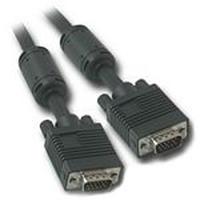 C2G 25m Monitor HD15 M/M cable - Noir