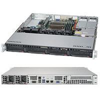 Supermicro 5019S-MR Barebone server - Zwart