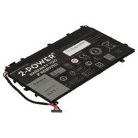 2-Power 3 Cell Laptop Accu 11,1V 30Wh Laptop reserve onderdelen - Zwart