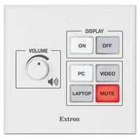 Extron MLC 55 RS VC Druk-knop panelen - Zwart, Wit