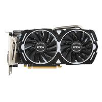 MSI AMD Radeon RX 570, 1268MHz, 8Go GDDR5, 256 bit, 7000MHz, PCI Express x16 3.0, 1 x HDMI, 1 x DVI-D, 3 x DP, .....