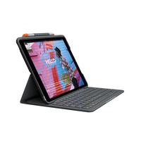 Logitech Slim Folio voor iPad (7e generatie) - AZERTY - Grafiet