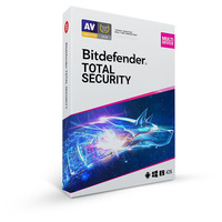 Bitdefender Total Security 2020 - 2 jaar/10 apparaten Firewall software