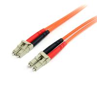 StarTech.com Câble patch à fibre optique duplex 62,5/125 multimode 2 m LC - LC Câble de fibre optique