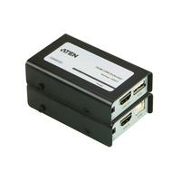 Aten HDMI USB Extender Audio/Video + USB Extender AV extenders - Zwart,Grijs