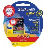 Pelikan BL 2X5 CART. ENCRE GTP GRIFFIX Recharge d'encre
