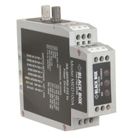 Black Box DIN Rail RS-232/RS-485 to Fibre Driver Seriële server