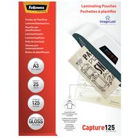 Fellowes ImageLast 125 micron glanzend A3-25pk Lamineerhoes - Transparant
