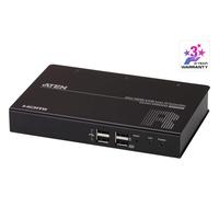 ATEN Récepteur KVM un affichage HDMI sur IP mince - Noir