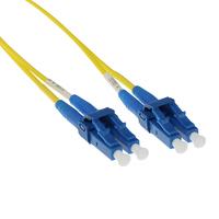 ACT 0.5 meter LSZH Singlemode 9/125 OS2 short boot glasvezel patchkabel duplex met LC connectoren Fiber optic kabel .....