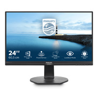 Philips Brilliance LCD-monitor met PowerSensor 23.8'' TFT monitor - Zwart