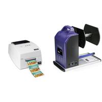 DTM Print LX500e + RW-4 Labelprinter - Cyaan,Magenta,Geel