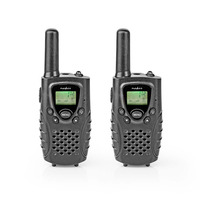 Nedis WLTK0800BK Radios bidirectionnelles - Noir