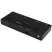 StarTech.com 4-Port HDMI Automatic Video Switch - 4K 2x1 HDMI Switch with Fast Switching, Auto-sensing and .....