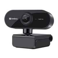 Sandberg USB Flex 1080P HD Webcam - Noir