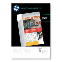 HP Professioneel inkjetpapier Professional inkjetpapier, mat, 100 vel, A3/297 x 420 mm Papier - Wit