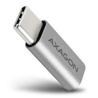 Axagon USB-C M > micro USB F adapter Adaptateur de câble - Métallique