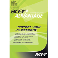 Acer SV.WNBAP.A11 Extension de garantie et support