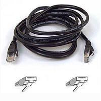 Belkin CAT6 1M BLACK Netwerkkabel