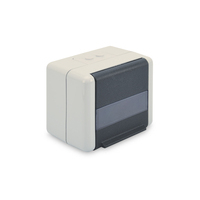 Digitus Outdoor Mount Box for Keystone Modules, IP44, surface mount, optional inlet, for 2x keystones Dop .....