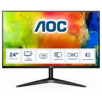 AOC B1 23.8 inch 1920x1080@60Hz 7 ms IPS HDMI 1.4 x 1, VGA Monitor - Zwart