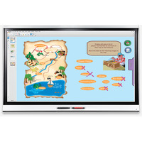 Smart Board 6075 Interactieve whiteboard - Wit