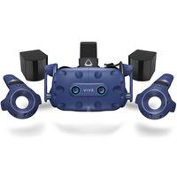 DELL HTC VIVE Pro Eye Virtual reality bril - Zwart,Blauw