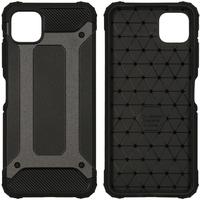 Imoshion Rugged Xtreme Backcover Samsung Galaxy A22 (5G) - Zwart - Zwart / Black