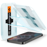 Spigen iPhone 13 Pro Max Screen Protector EZ FIT GLAS.tR SLIM, 9H Hardness Tempered Glass Schermbeschermer - .....