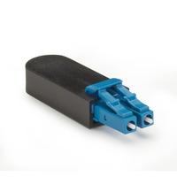 Black Box Bouclage fibre optique Adaptateurs de fibres optiques - Noir,Bleu