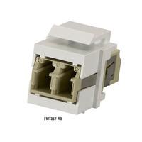 Black Box GigaStation2 Fibre Snap Fittings Elektrische fitting koppelaars - Grijs