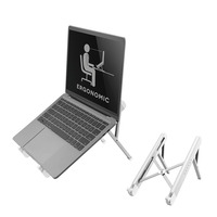 Neomounts by Newstar opvouwbare laptop stand Laptop steun - Zilver