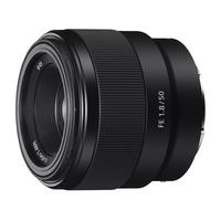 Sony FE 50mm F1.8 Lentille de caméra - Noir