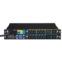 Eaton EMAH06 - MA 2U (309 32A 1P) 12XC13: 4xC19 Energiedistributie - Zwart