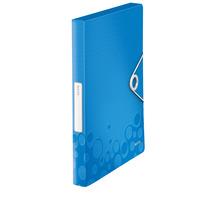 Leitz WOW Map - Blauw, Metallic