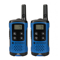 Motorola 2x T41 Radios 2x Belt Clips User Docs GSM