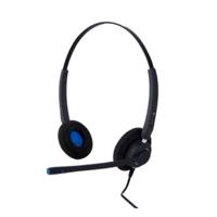 Alcatel-Lucent AH 22 M Headset - Zwart,Blauw