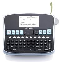 DYMO LabelManager LabelManager™ 360D AZY - AZERTY Imprimante d'étiquette - Noir, argent