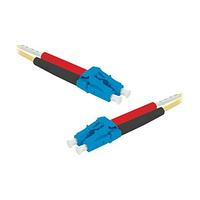 Connect 392358 Fiber optic kabel - Geel