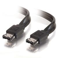 C2G 2m External Serial ATA Cable ATA kabel - Zwart