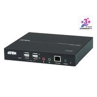 ATEN Station console KVM HDMI sur IP Commutateur KVM - Noir